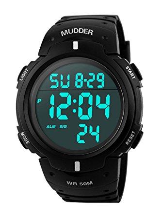 Mudder digital watch