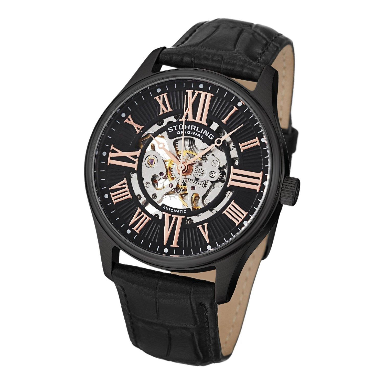 Stuhrling Skeleton watch 747.03