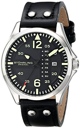 Stuhrling pilot watch 699.01