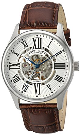 Stuhrling skeleton watches 747.01